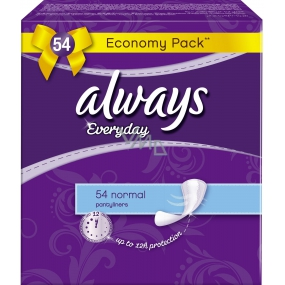 Always Everyday Normal panty intimate insoles 54 pieces