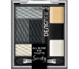 Miss Sports Designer All in One Eyeshadow Palette 200 Smoky Designer 9.5 g