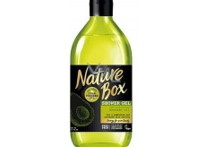 Nature Box Avocado Regenerative shower gel with 100% cold pressed oil, suitable for vegans 385 ml