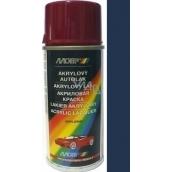 Motip Škoda Acrylic car paint spray SD 9460 Blue deep metallic 150 ml
