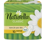 Naturella Classic Normal sanitary napkins with a soft chamomile fragrance of 10 pieces