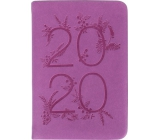 Albi Diary 2020 mini Purple 11 x 7.5 x 1 cm