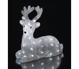 Emos Deer luminous 31 x 27 x14 cm, 40 LED cold white + 3 m power cable