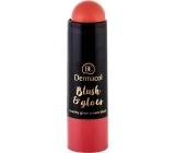 Dermacol Blush & Glow Cream Brightening Blush Stick 06 6.4 g
