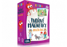 Albi Kvído Creative magnets Dressing recommended age 3+