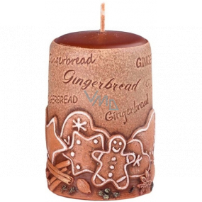 Emocio Gingerbread Gingerbread scented candle cylinder 50 x 80 mm
