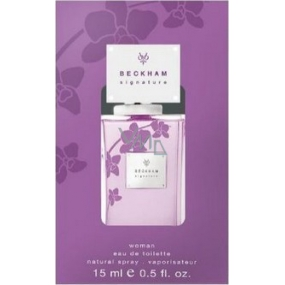 David Beckham Signature for Her toaletní voda 15 ml