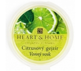Heart & Home Citrus Geyser Soybean Natural Scented Wax 27 g