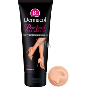 Dermacol Perfect Waterproof Beautifying Body Makeup Ivory Shade 100 ml