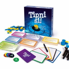 Albi Tip the party game, recommended age from 12+