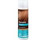 Dr. Santé Keratin Hair regenerating and hydrating shampoo for fragile brittle hair without shine 250 ml