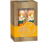 Kneipp Morning kiss with orange blossom and jojoba oil shower foam for women 200 ml + foam body lotion 200 ml, cosmetic set