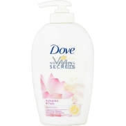 Dove Nourishing Secrets Glowing Ritual liquid soap with 250 ml dispenser