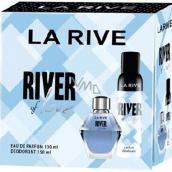 La Rive River of Love perfumed water for women 100 ml + deodorant spray 150 ml, gift set