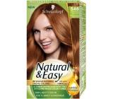 Schwarzkopf Natural & Easy barva na vlasy 546 Středně měděně plavá terakota