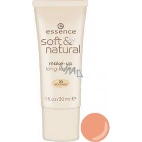 Essence Soft & Natural Makeup 03 Medium Beige 30 ml