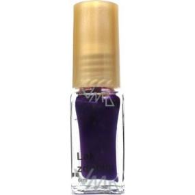 Daisy decorating nail polish shade purple 6 ml