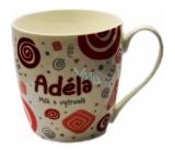 Nekupto Twister hrnek se jménem Adéla červený 0,4 litru 002 1 kus