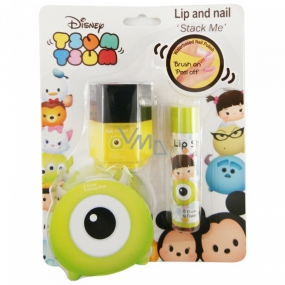 Disney Tsum Tsum Stack Me Lip Gloss + Nail Polish, Cosmetic Set for Kids