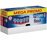 Finish All in 1 Max Regular dishwasher tablets 6 x 20 tablets = 120 pieces, megabox