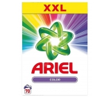 Ariel Color washing powder for color laundry, preserves color intensity, works already at 30 ° C 70 doses of 5.25 kg box