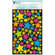 Room Decor Hologram stickers Stars 21 x 14 cm