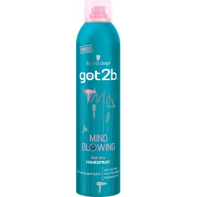 Got2b Mind Blowing Fast Dry Hairspray rychleschnoucí lak na vlasy 300 ml