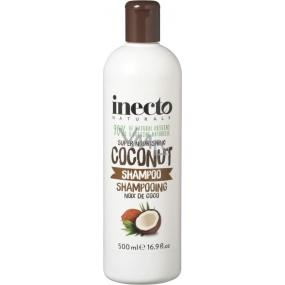 Inecto Naturals Coconut s čistým kokosovým olejem šampon na vlasy 500 ml