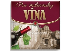 Nekupto Mini Book with Quotes For wine lovers