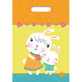 Ditipo Bag with a break Easter bunnies 22 x 32 cm