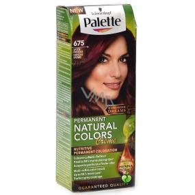 Schwarzkopf Palette Permanent Natural Colors Creme barva na vlasy 675 Ibiškově hnědý