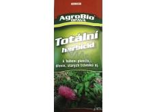 AgroBio Totální herbicid k hubení plevelů, dřevin, starých trávníků 50 ml