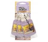 Yankee Candle Lemon Lavender fragrance sticker for car paper set 3 pieces