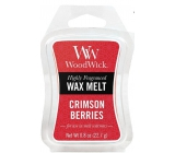 WoodWick Crimson Berries - Rowanberries with spices fragrant wax for aroma lamp 22.7 g
