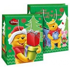 Baby gift bag M Disney Winnie the Pooh in Santa Cap with gifts