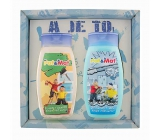 Bohemia Gifts Kids Pat a Mat - Plumbers hair shampoo 250 ml + shower gel 250 ml, for children cosmetic set