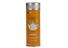 Česky Tea Shop Bio and Fairtrade Rooibos pure 15 pieces of biodegradable pyramids of tea in a recyclable tin jar 30 g, gift set