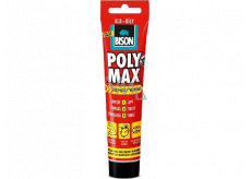 Bison Poly Max Express White quick-drying universal assembly sealant White 165 g