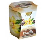 Admit Verona Vanilla - Vanilla scented candle in glass 90 g