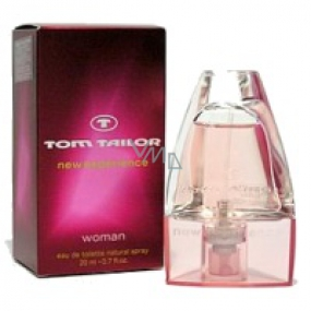 Tom Tailor New Experience Woman toaletní voda 50 ml