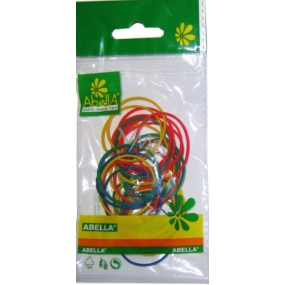 Abella Rubber bands colored different colors 40 pieces, 8 g