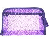 Etue Translucent purple 25 x 16 x 6 cm P4289 1 piece