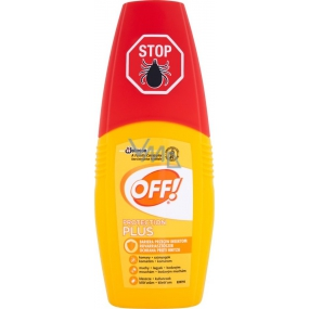 Off! Protection Plus repelent rozprašovač 100 ml