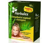Herbalex Detox patches with hemp 14 pieces