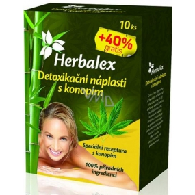 Herbalex Detoxification patches with cannabis 14 pieces