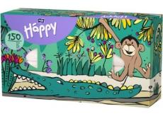 Bella Happy Baby Monkey hygienic handkerchiefs 2 layer 150 pieces