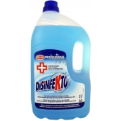 Disinfekto Professional disinfectant and cleaner against bacteria and fungi 5 l