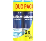 Gillette Series Sensitive Cool men's shaving foam 2 x 250 ml, duopack