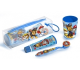Paw Patrol Toothbrush + Toothpaste + Crucible + Cosmetic Bag for Kids Gift Set
