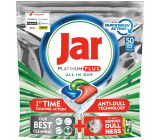 Jar Platinum Plus All in One Quickwash Action Cool Blue dishwasher capsules 50 pieces